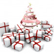 Gifts under Christmas tree — Stock Photo #36891055