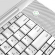Stock Photo: Laptop keyboard