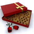 Box of chocolates — Stock Photo #36892159