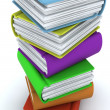 Stack of books — Stock Photo #36896205