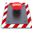 Stock Photo: Push button