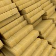 Construction materials wood — Stock Photo
