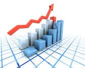 Rising profits — Stock Photo