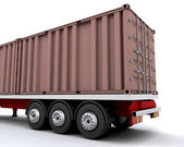 Freight container — Stock Photo
