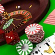 Casino items — Stock Photo