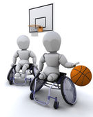 Bezbariérový basketbal — Stock fotografie