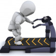 Stock Photo: Treadmill