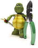 żółw z cięcia drutu — Zdjęcie stockowe