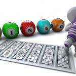 Man playing bingo — Stock Photo #37855611