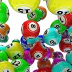 A set of colouored bingo balls — Stock Photo #37856087
