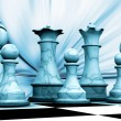 Chess pieces — Stock Photo #38396419