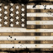 Grunge stars and stripes — Stock Photo