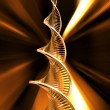 Stock Photo: dna strands
