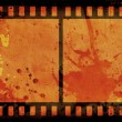 Stock Photo: Grunge film strip