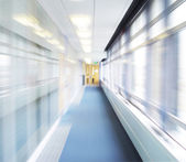Corridor blur — Stock Photo