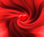 Heart swirl — Stock Photo