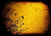 Grunge floral — Foto de Stock