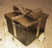 Grunge 的礼物 — 图库照片