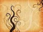 Grunge swirls and curls — Stock Photo