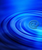 Email abstract — Stock Photo