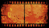 Grunge film strip — Stock Photo