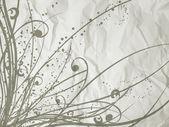 Grunge floral — Photo
