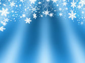 Snowflakes and stars — Stock Photo