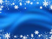 снежинки и звезды — Стоковое фото