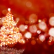 Stock Photo: Sparkly Christmas tree