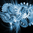 Foto de Stock  : Abstract gears