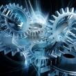 abstrakt gears — Stockfoto