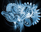Abstract gears — Foto Stock