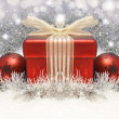Stock Photo: Christmas gift background