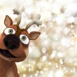 Christmas reindeer — Stock Photo #39370549