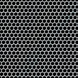 Perforated metal background — Stock Photo #39370731