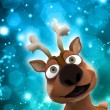 Stock Photo: Christmas reindeer
