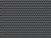 Perforated metal background — Foto Stock