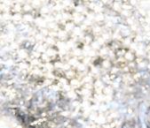 Silver Christmas lights — Stock Photo