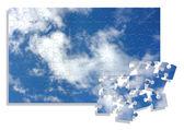 Rompecabezas de cielo — Foto de Stock