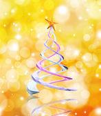 Boże Narodzenie drzewo tło — Zdjęcie stockowe