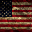 Grunge American flag background — Stock Photo #39434719
