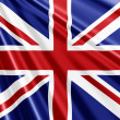Foto Stock: Union Jack Flag background