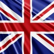 Union Jack Flag background — Stock Photo