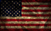 Grunge American flag background — Stock Photo