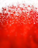 Fiocchi di neve e stelle — Foto Stock