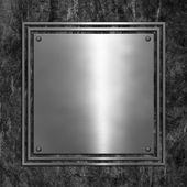 Grunge metal background — Stock Photo