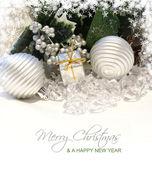 Fundo de Natal feliz — Fotografia Stock