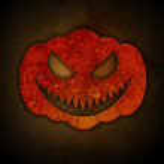 Grunge halloween achtergrond — Stockfoto