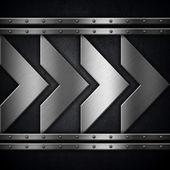 Metalliska bakgrund — Stockfoto