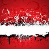 Decorative grunge background — Stock Vector
